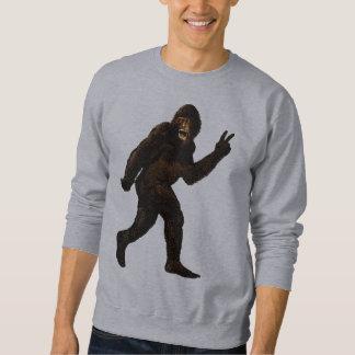 Bigfoot Peace Sign Sweatshirt