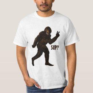 Bigfoot Peace  Sup? T-Shirt