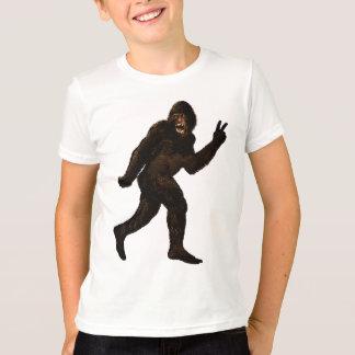 Bigfoot Peace T-Shirt