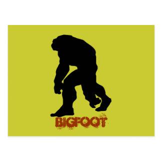 Bigfoot Postcard