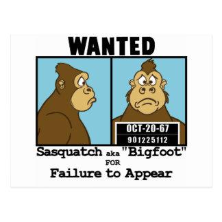 Bigfoot Postcards