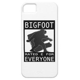 Bigfoot Rated 'E' For Everyone iPhone 5/5S Cases