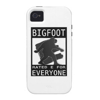 Bigfoot Rated E For Everyone Case-Mate iPhone 4 Case