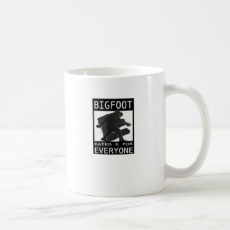 Bigfoot Rated 'E' For Everyone Coffee Mug