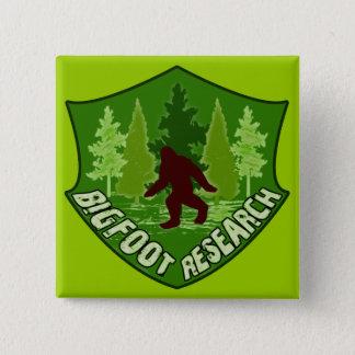 Bigfoot Research 15 Cm Square Badge