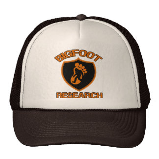 Bigfoot Research Cap