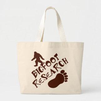 Bigfoot Research Jumbo Tote Bag
