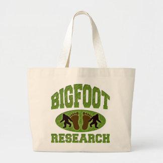 Bigfoot Research Large Tote Bag