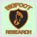 Bigfoot Research Stickers