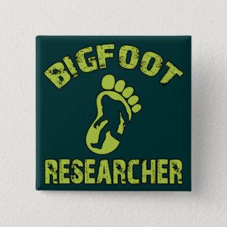 Bigfoot Researcher 15 Cm Square Badge