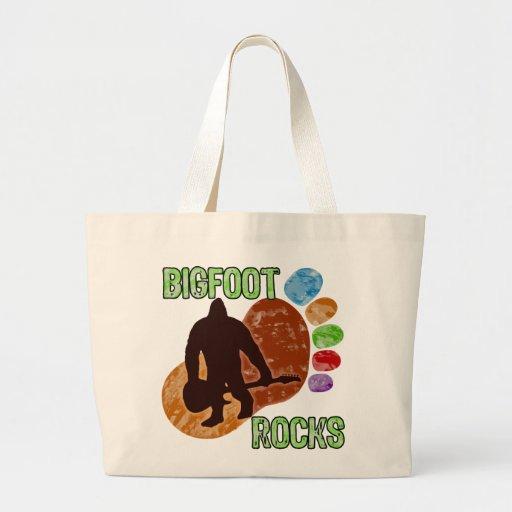 Bigfoot Rocks Canvas Bag