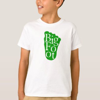 Bigfoot! Sasquatch Big Foot Yeti (GREEN) T-Shirt