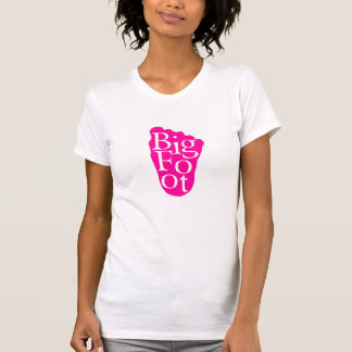 Bigfoot! Sasquatch Big Foot Yeti (PINK) T-Shirt