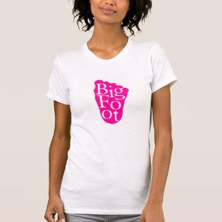 Bigfoot Sasquatch Big Foot Yeti PINK Tshirts