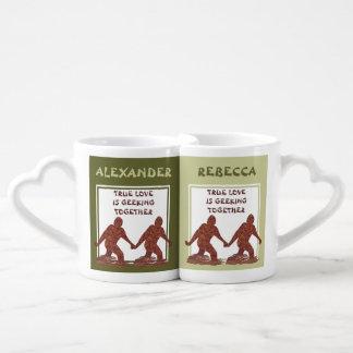 Bigfoot Sasquatch Yeti Cryptid True Love Is Lovers Mug