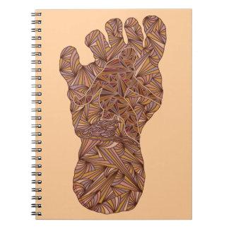Bigfoot Sasquatch Yeti Fun Geek Spiral Note Books
