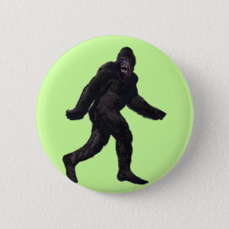 Bigfoot Sasquatch Yetti 6 Cm Round Badge