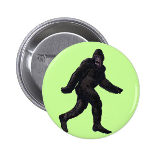 Bigfoot Sasquatch Yetti 6 Cm Round Badge
