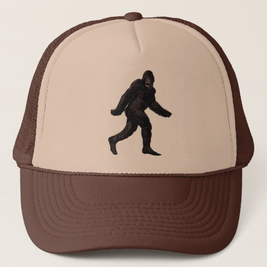 Bigfoot Sasquatch Yetti Trucker Hat