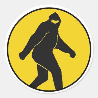 Bigfoot Sticker (Yellow)