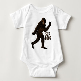 Bigfoot Sup Foo Baby Bodysuit