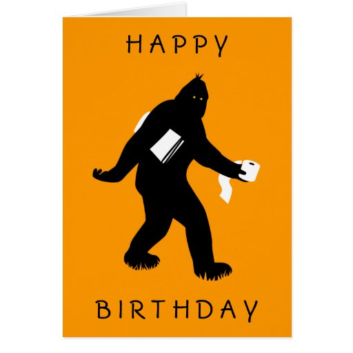 Bigfoot Surprised Cards