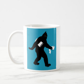 Bigfoot Surprised Coffee Mug