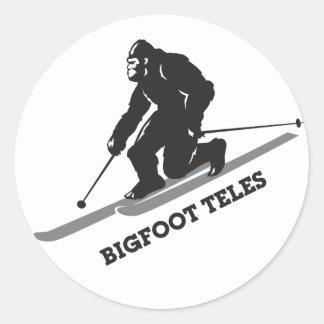 Bigfoot Teles Sticker
