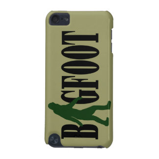 Bigfoot text & green squatch graphic iPod touch (5th generation) case