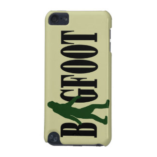 Bigfoot text & green squatch graphic iPod touch (5th generation) cover
