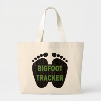 Bigfoot Tracker Jumbo Tote Bag