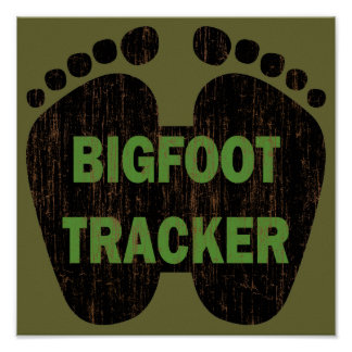 Bigfoot Tracker Poster