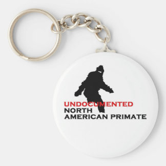 Bigfoot: Undocumented North American Primate Key Ring