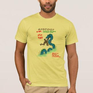 Bigfoot VS. Loch Ness Monster T-Shirt