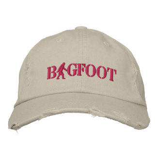 Bigfoot with  logo embroidered hat