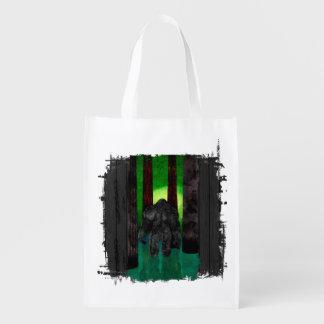 Bigfoot Reusable Grocery Bags