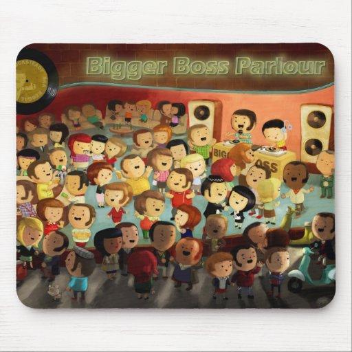 Bigger Boss Reggae Party Mousepad