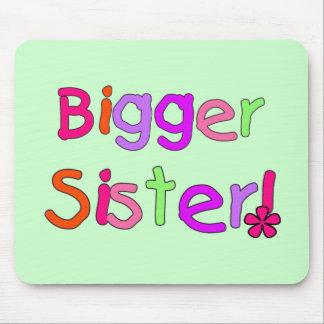 Bigger Sister Tshirts and Gifts Mouse Mat