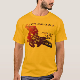 Bigger Toys Dirt Bike Motocross Funny Shirt