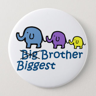 Biggest Brother 10 Cm Round Badge