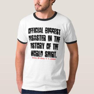 Biggest Disaster Souvenir Shirt