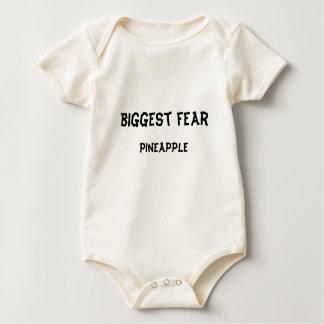 Biggest Fear:  pineapple Baby Bodysuit