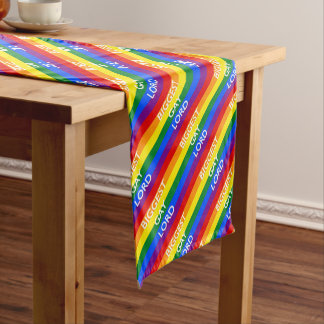 BIGGEST GAY LORD SHORT TABLE RUNNER