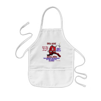 Biggest No-Brainer In The State Of Alaska Kids Apron