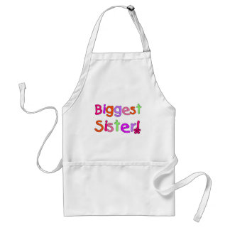 Biggest Sister T-shirts and Gifts Standard Apron