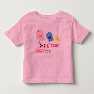 Biggest Sister Toddler T-Shirt
