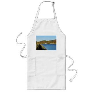 Biggetalsperre in the autumn long apron