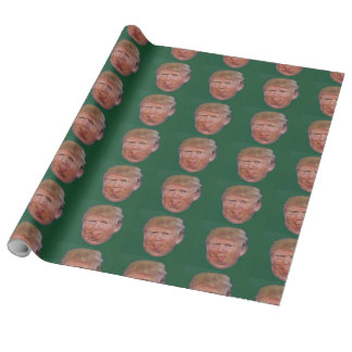Bigly Trumped-up Wrapping Paper