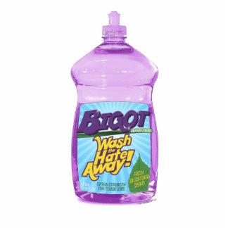 BIGOT Wash the Hate Away! [cutout magnet] Photo Sculpture Magnet