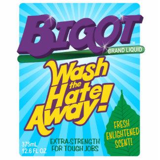 BIGOT Wash the Hate Away [cutout sculpture magnet] Photo Sculpture Magnet